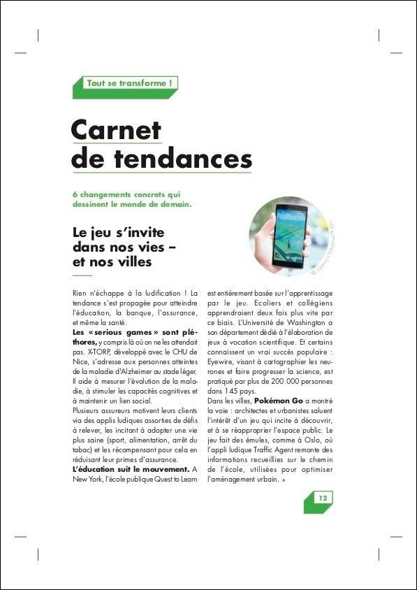 PMU Livret Innovation – Tendances
