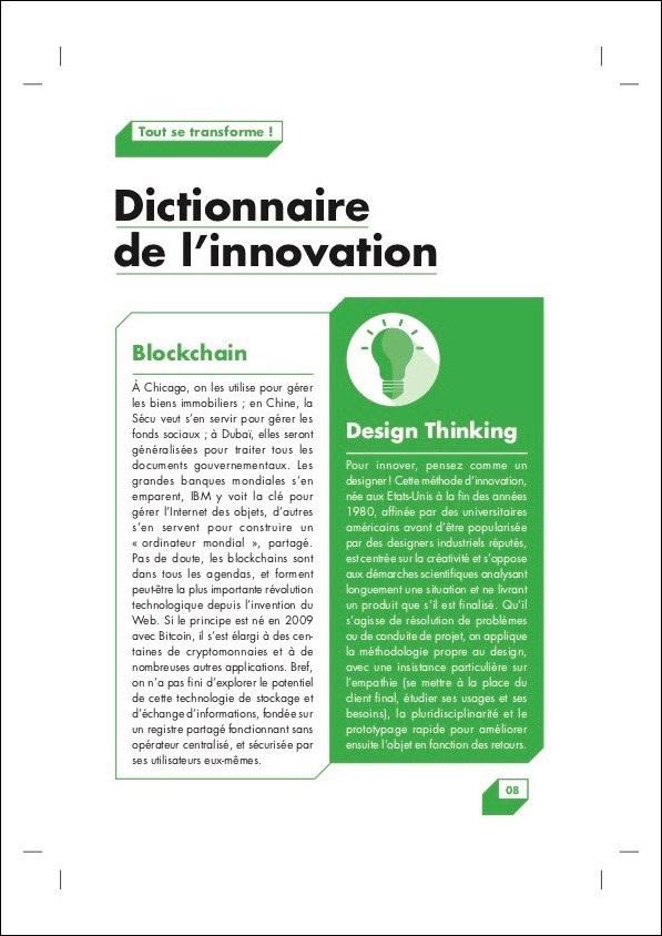 PMU Livret Innovation – Dictionnaire