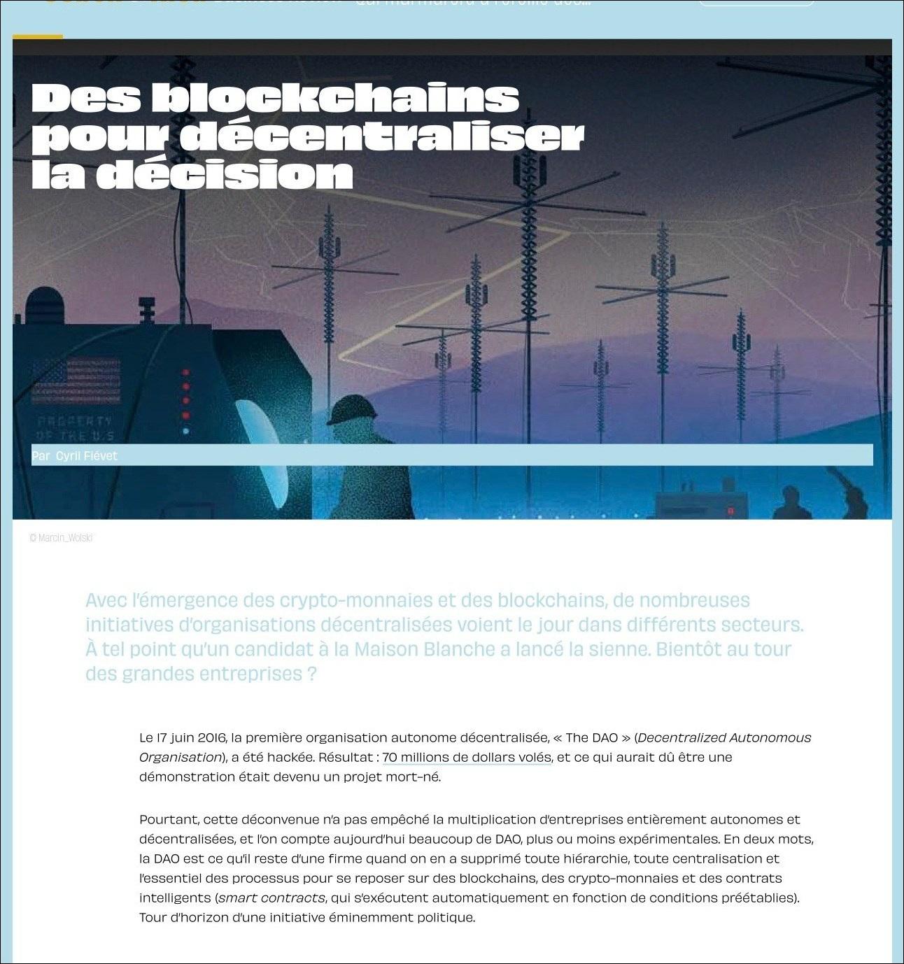 Usbek & Rica Business Review #2 – Blockchains