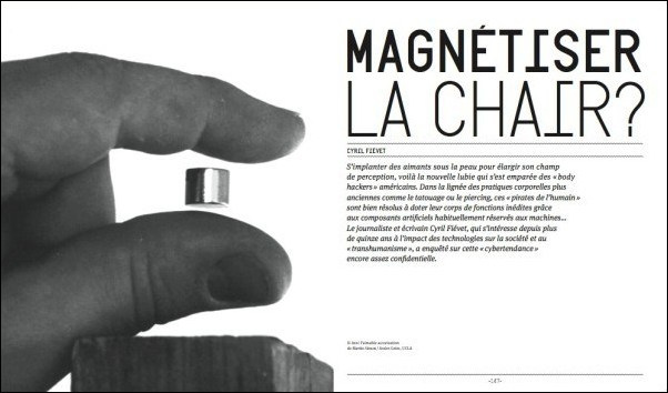 Orbs – Implants magnétiques